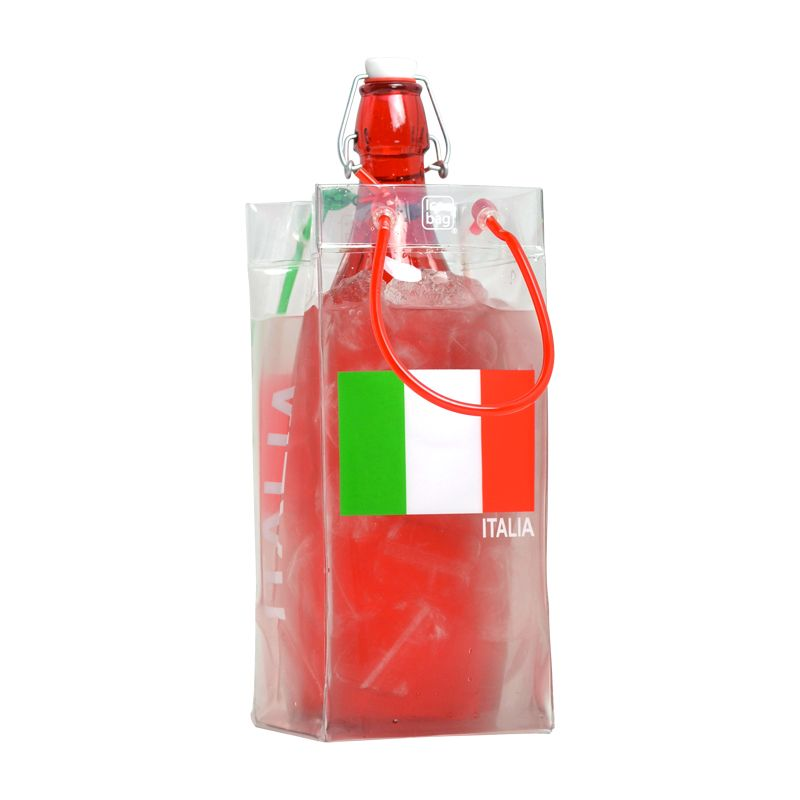Ice.bag® italia - rafraîchisseur 1 bouteille 11+11x25,5cm x240 pcs