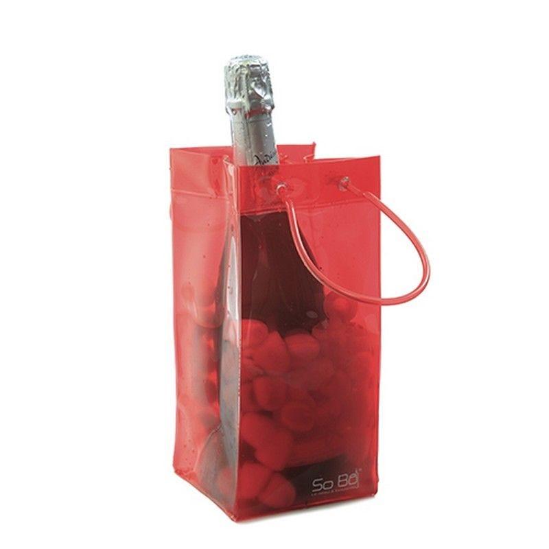 Seau à glaçon flexible so bô® rouge - par 120 (photo)