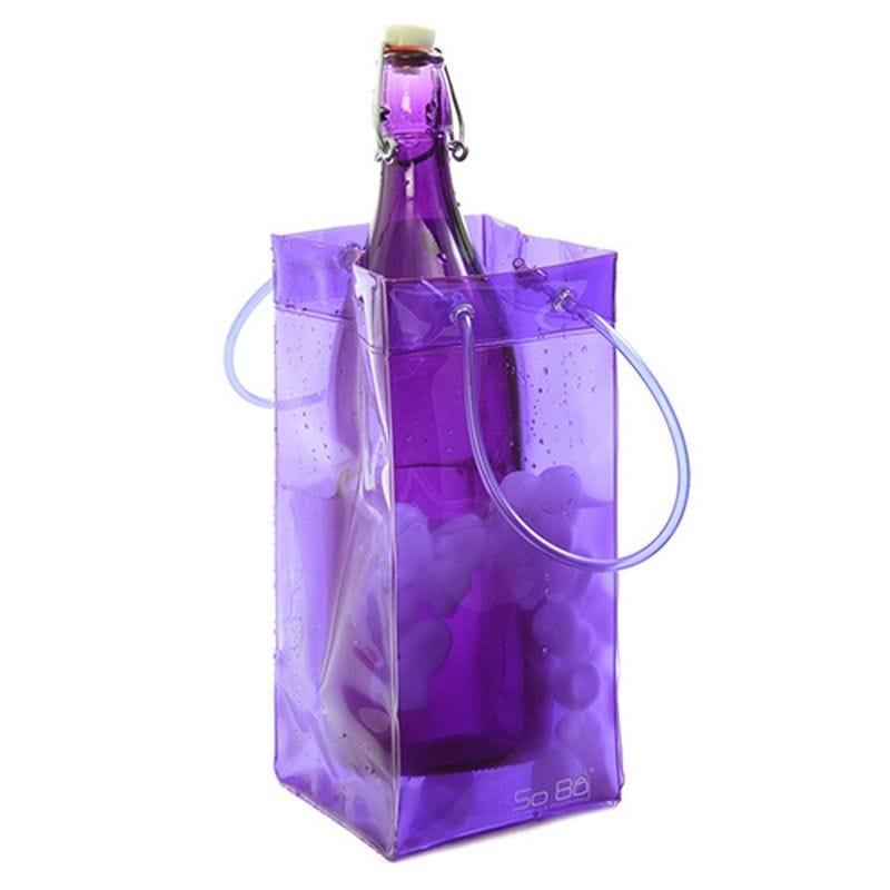 Seau à glaçon flexible so bô® violet - par 120 (photo)