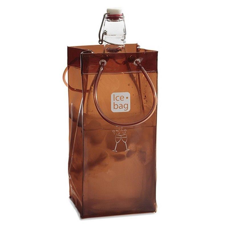 Ice.bag® couleur chocolat brownie - par 120 (photo)