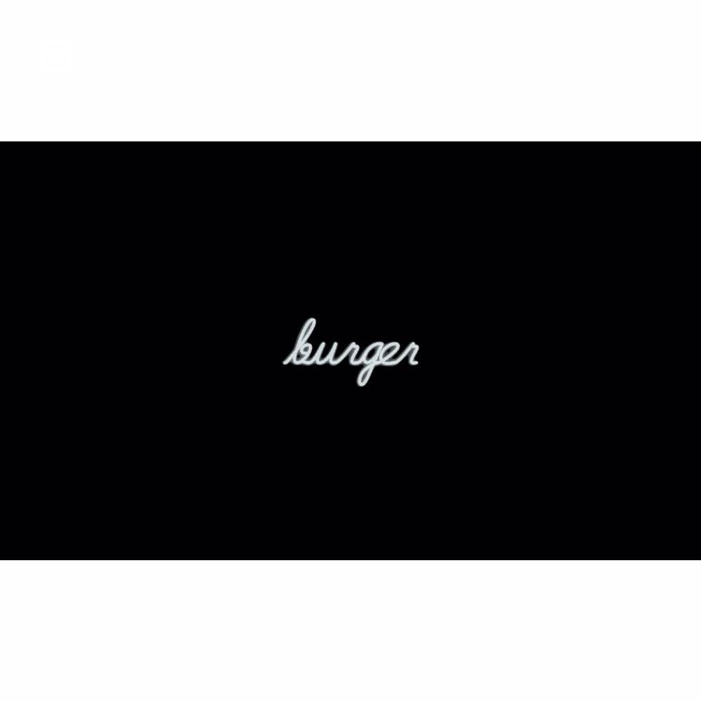 Mot lumineux 'burger'