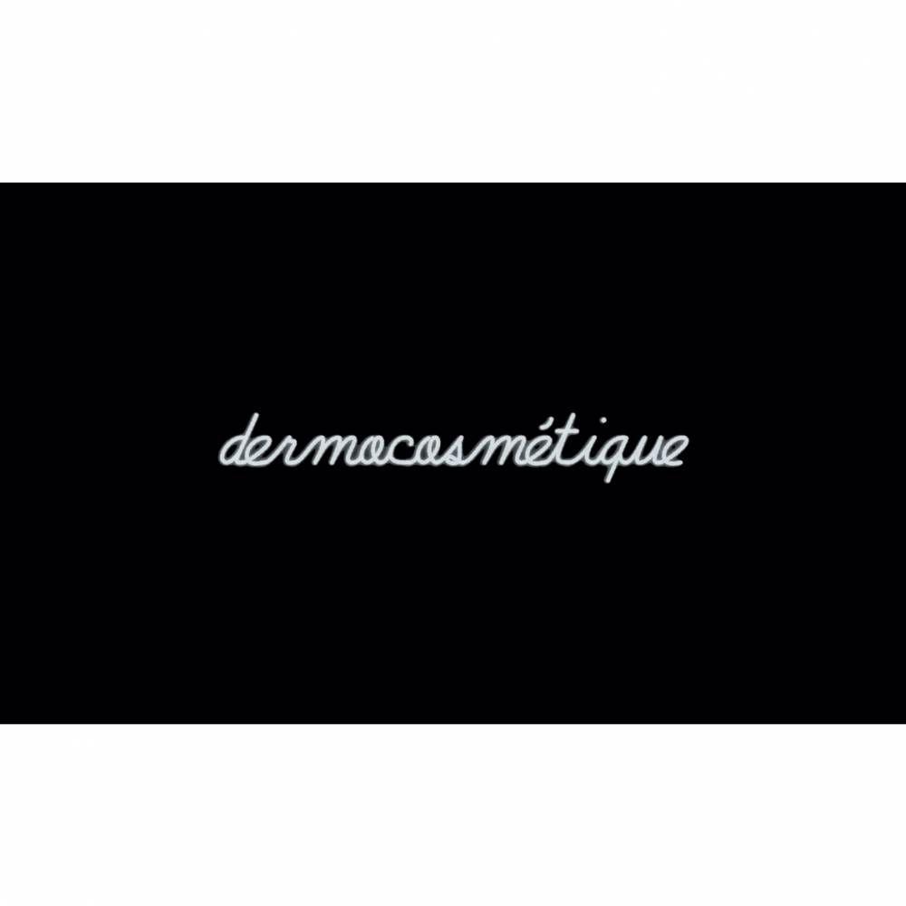 Mot lumineux 'dermocosmétique'