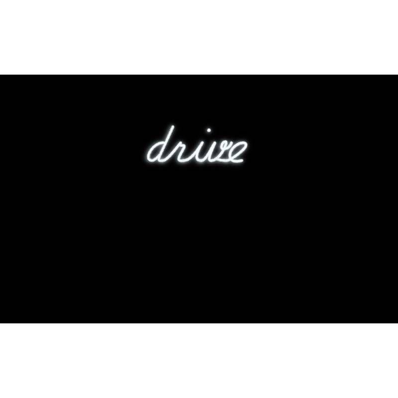 Mot lumineux 'drive'