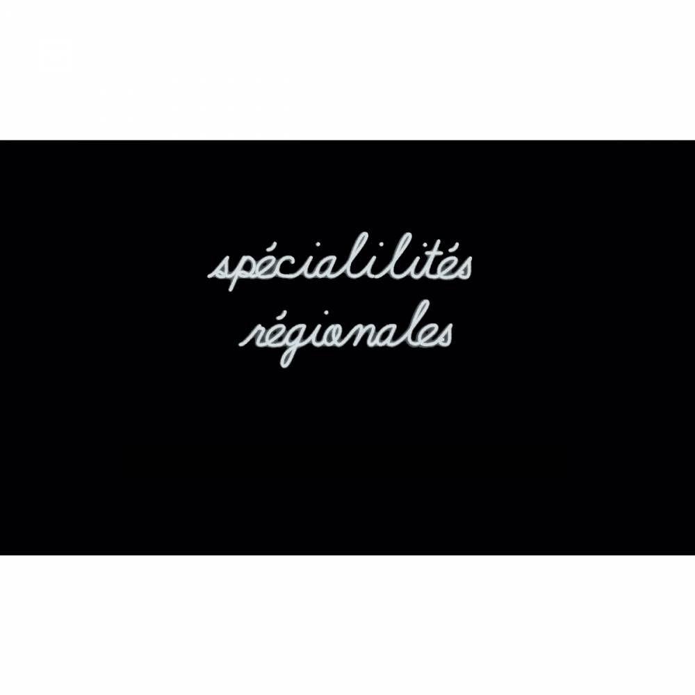 Mot lumineux 'spécialités régionales'