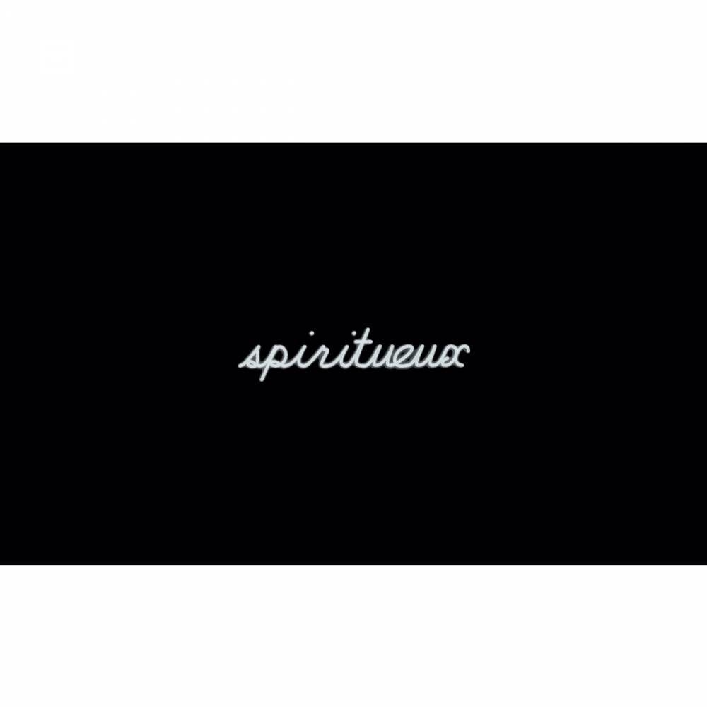 Mot lumineux 'spiritueux'