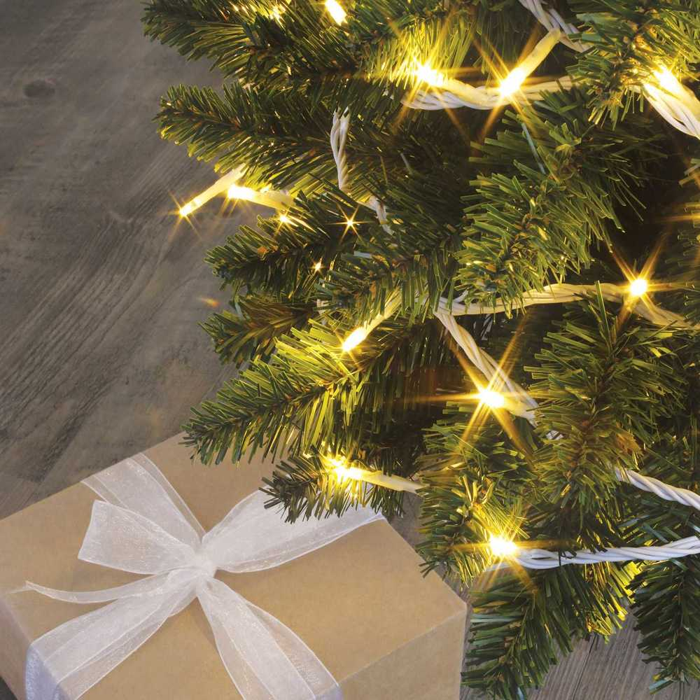 Guirlande flicker light ® led blanc chaud - 8,00 m mod. B