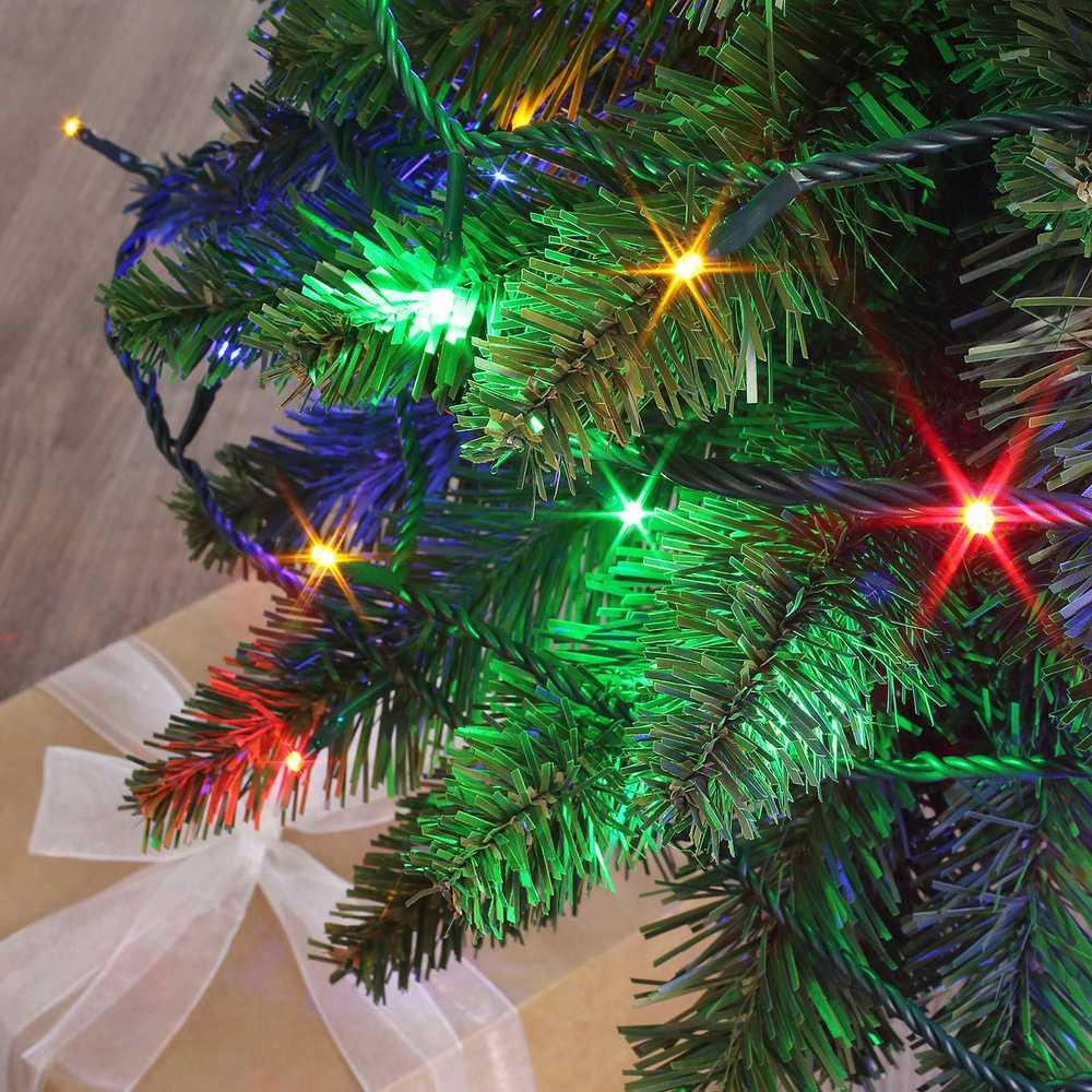 Guirlande flicker light ® led multicolore - 8,00 m mod. A