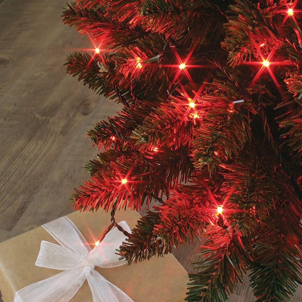 Guirlande flicker light ® led rouge - 8,00 m mod. A