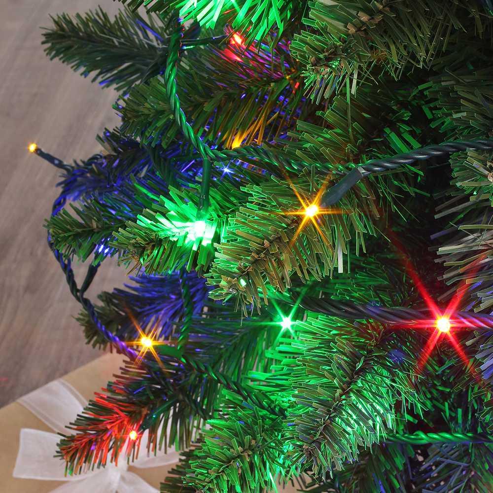 Guirlande flicker light ® led multicolore - 16,00 m mod. A