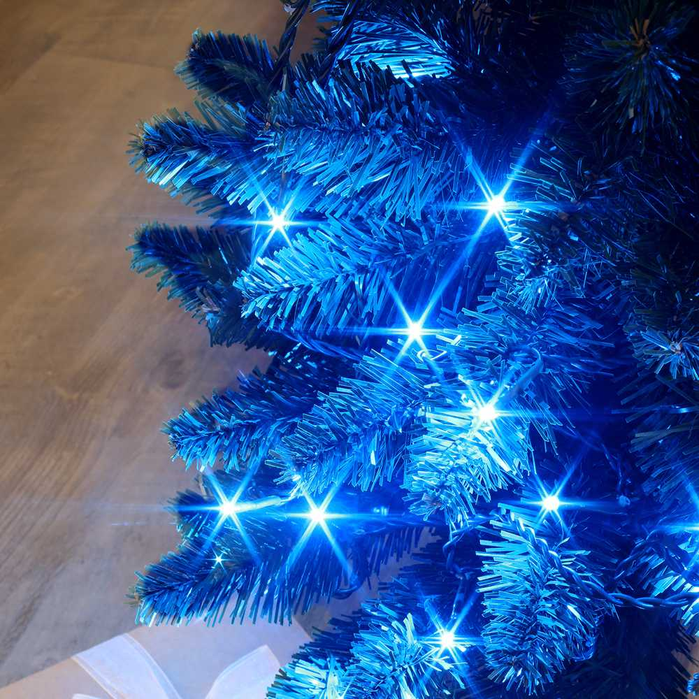 Guirlande flicker light ® led bleu - 35,00 m