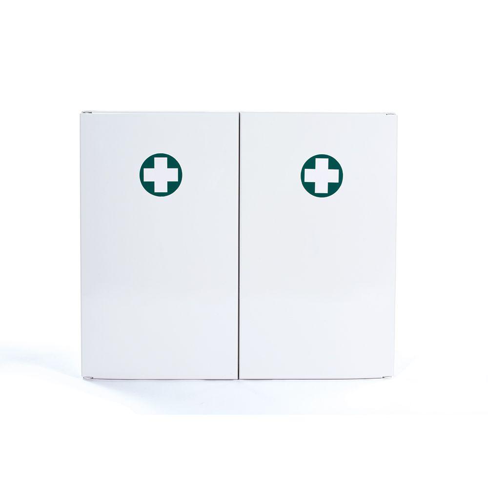 Armoire à pharmacie en abs 2 portes - vide (photo)