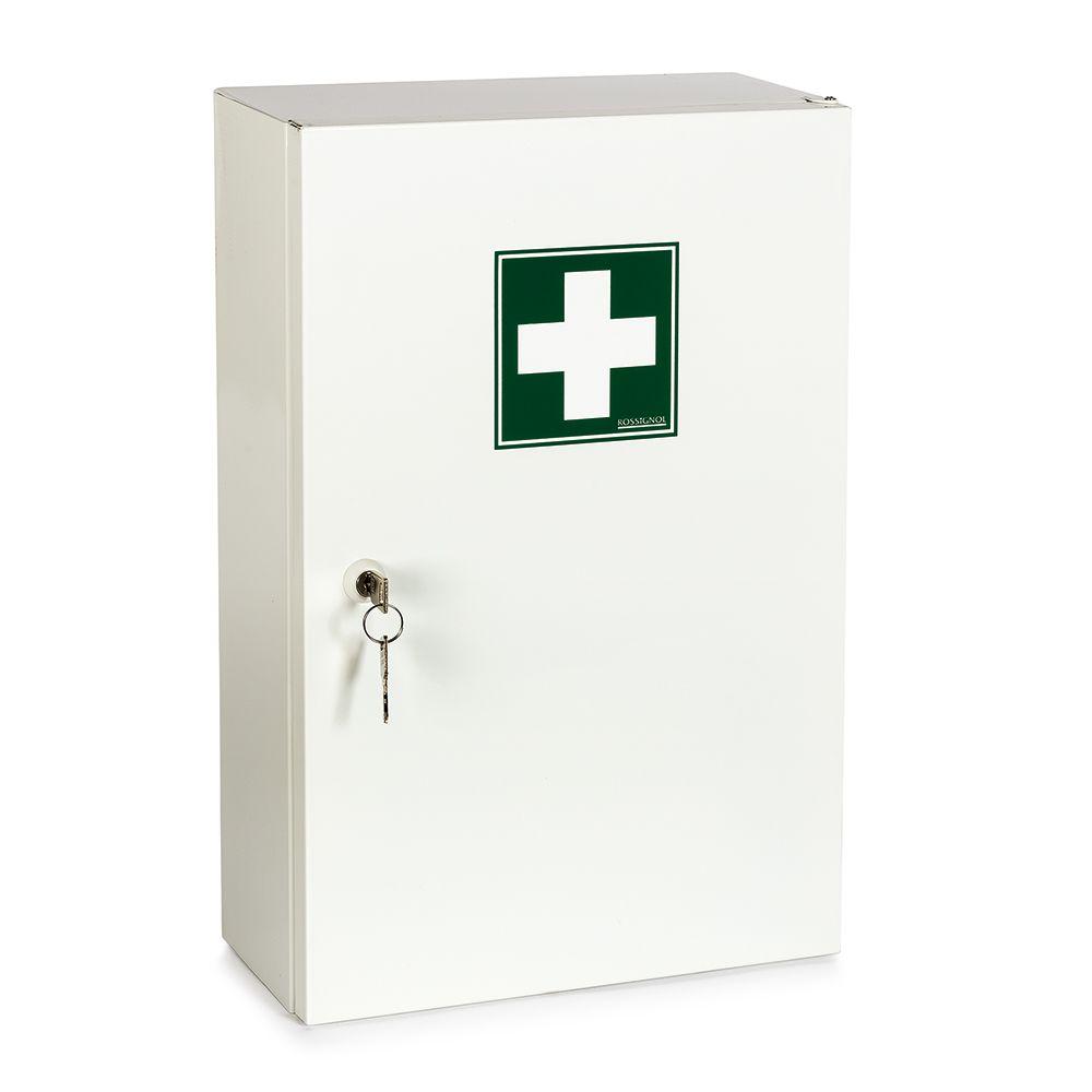 Armoire à pharmacie métal 1 porte - vide (photo)