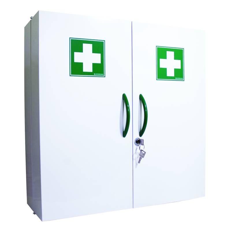 Armoire à pharmacie métal 2 portes - vide (photo)