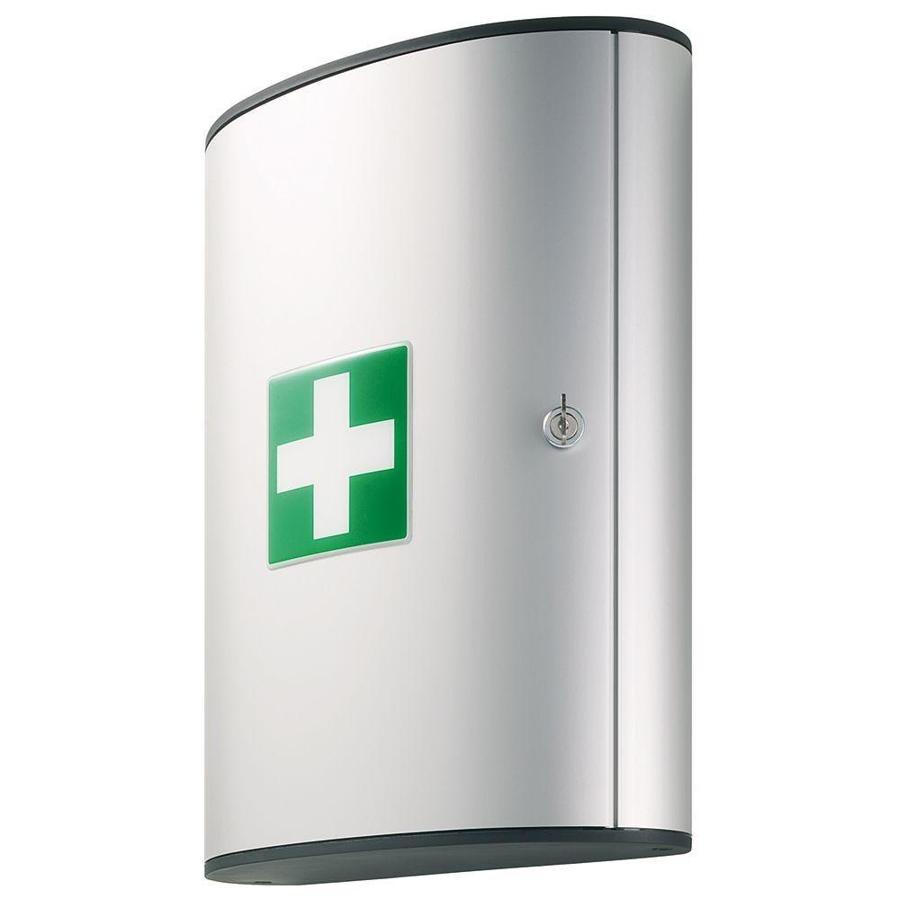 Armoire à pharmacie first aid box grand modèle - garnie (photo)