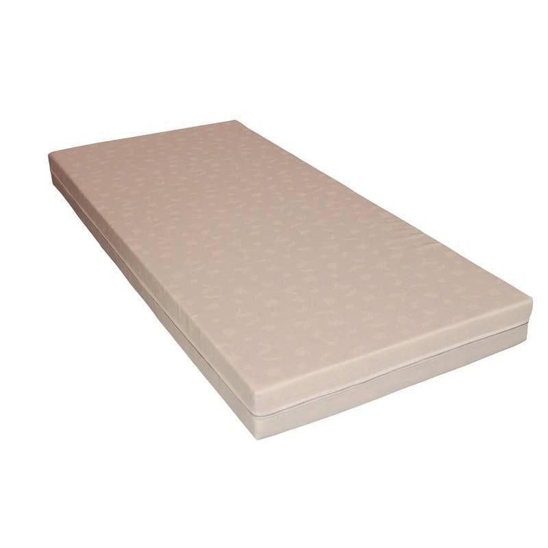 Matelas déhoussable tissu lisse polycoton 90x200