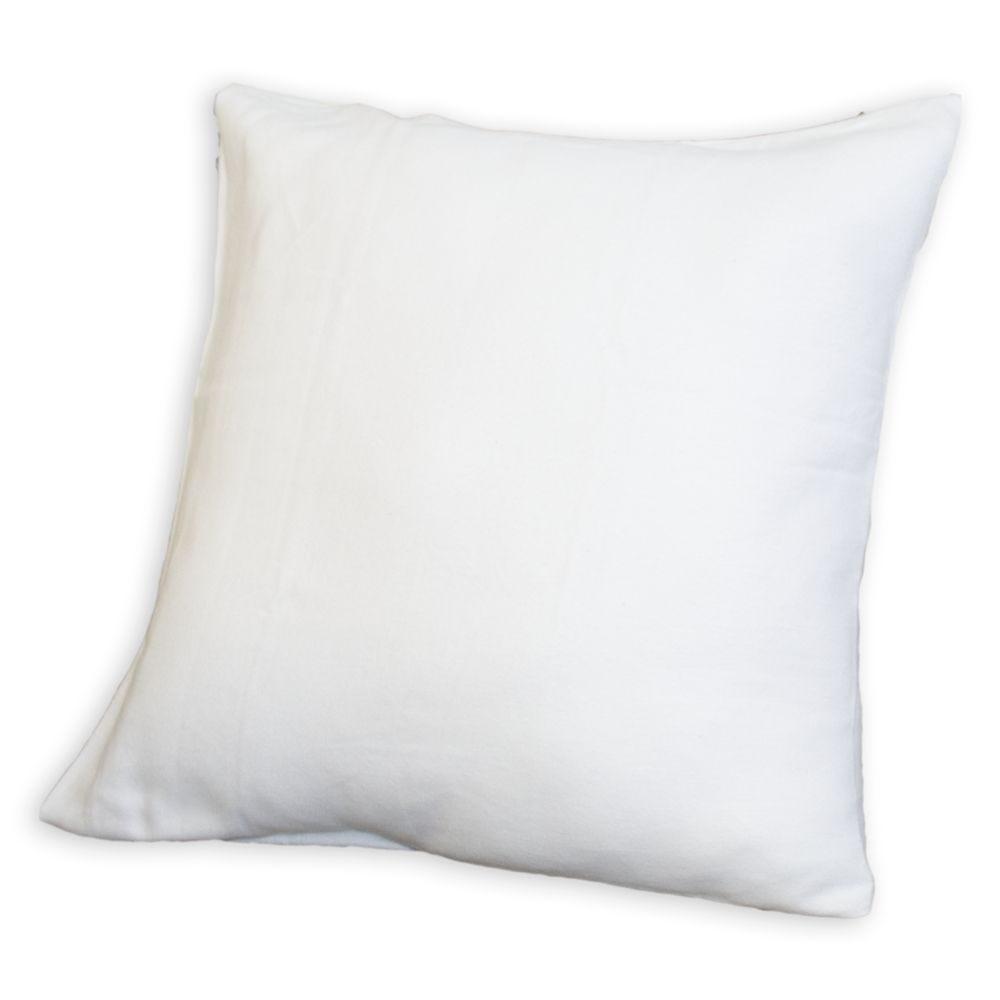 Sous taie o. 60x60cm blanc - 200g/m² - par 2 (photo)
