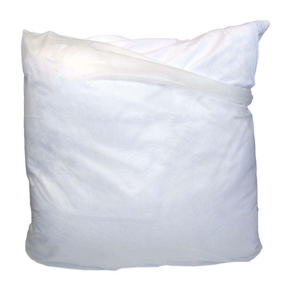 Sous taie o. Jetable 60x60cm blanc - 180g/m² - par 20 (photo)