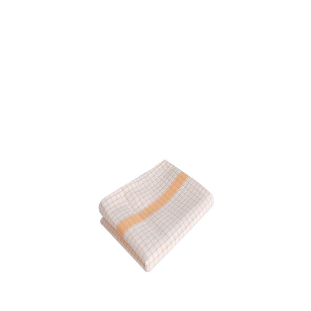 Torchons gamma gaufree 60x80cm orange - 220g/m² - par 10 (photo)