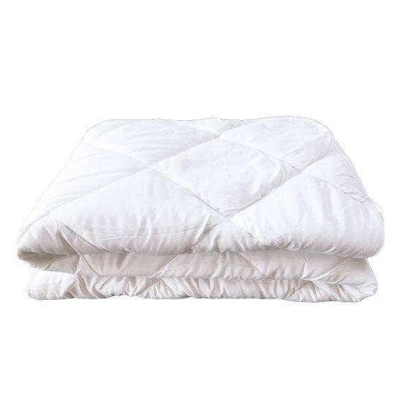 Couette toronto 140x200cm blanc - 400g/m² (photo)