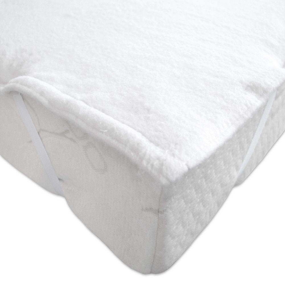 Alèse mouette 90x190cm blanc - 400g/m² (photo)