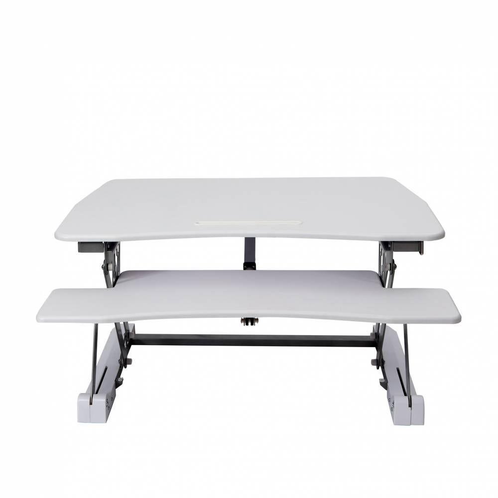 Station assis debout standy largeur 90cm - coloris blanc