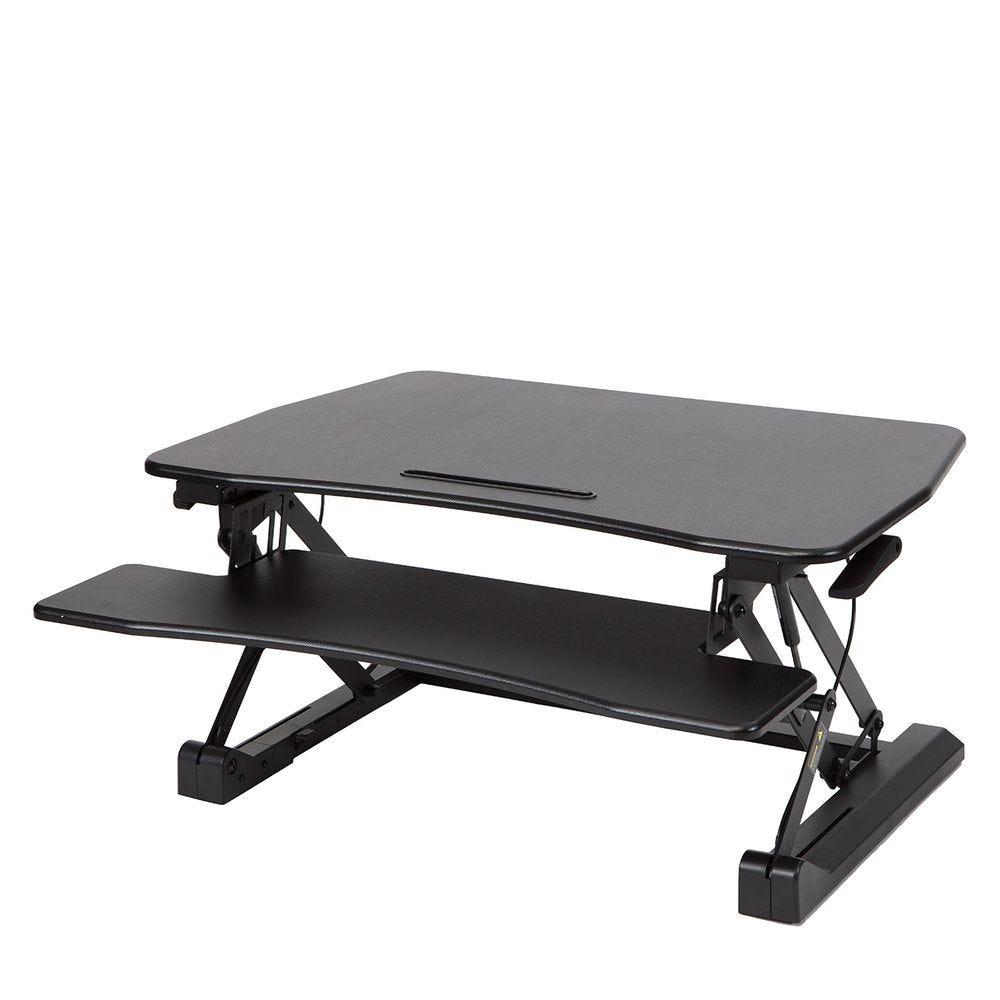 Station assis debout standy largeur 90cm - coloris noir