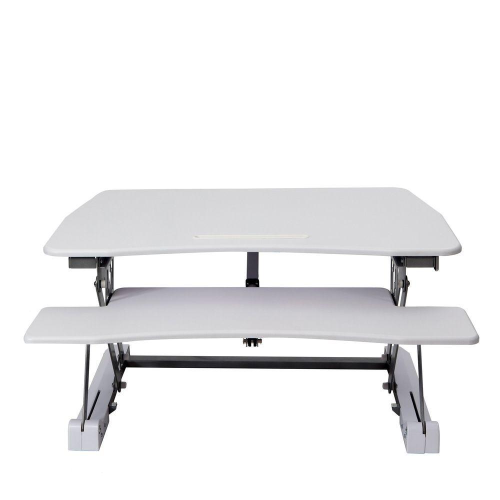 Station assis debout standy largeur 73cm - coloris blanc