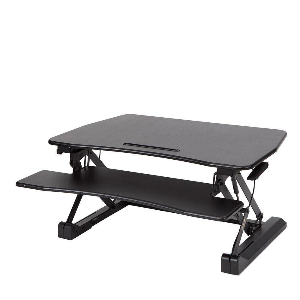 Station assis debout standy largeur 73cm - coloris noir