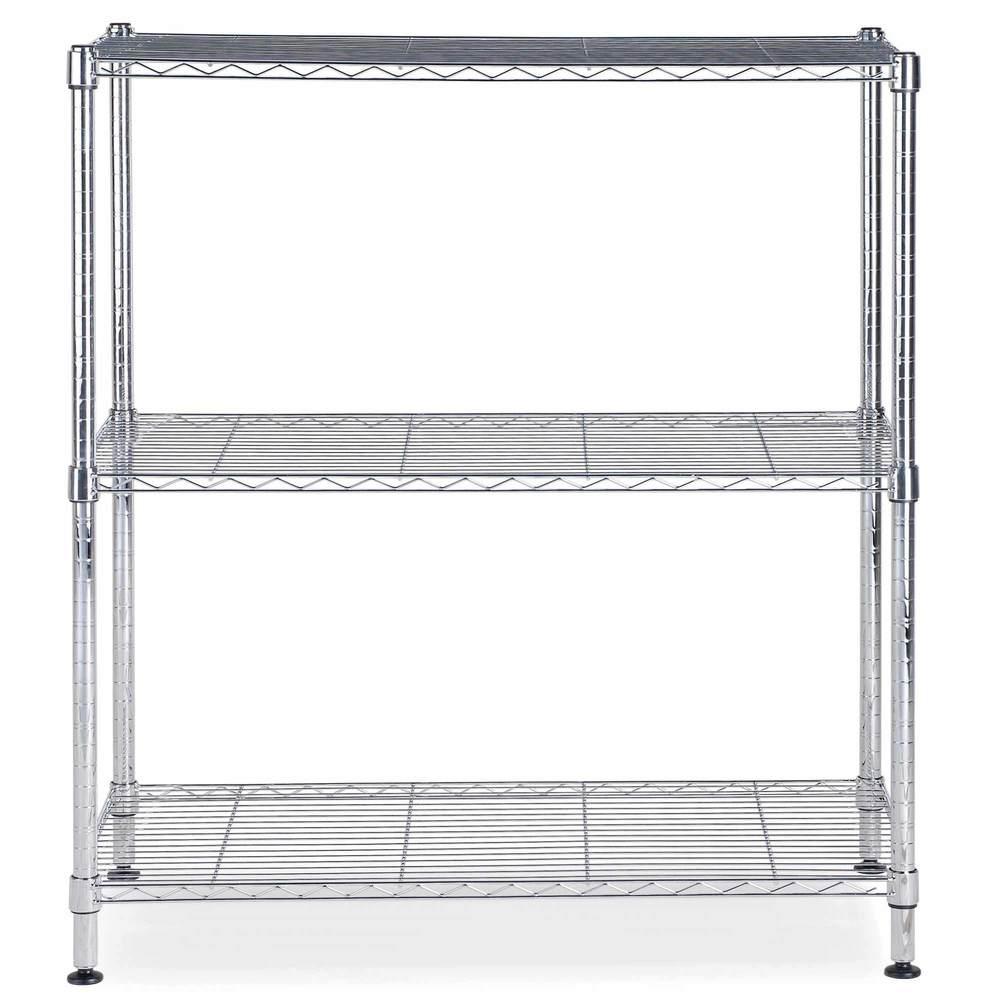 Etagère chrome multifonction 3 niveaux largeur : 90cm