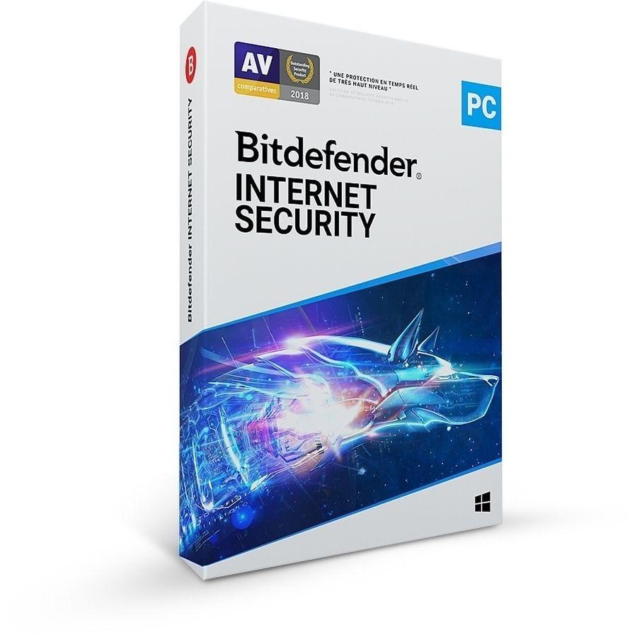 Bitdefender Internet Security - 5 postes - 2 ans - Windows