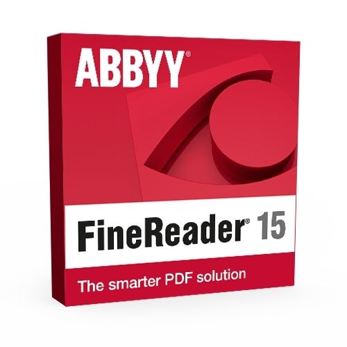 Abbyy FineReader PDF 15 - Windows (photo)