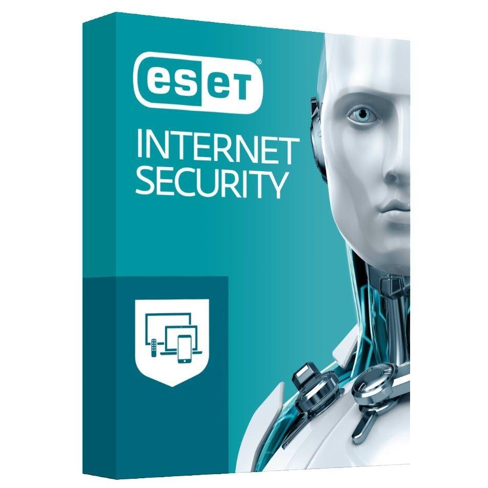 Eset Internet Security - 3 postes - 1 an - Windows