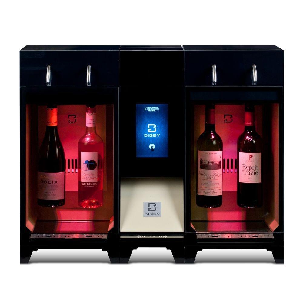 Distributeur de vin au verre 4 bouteilles en libre-service, installation incluse (photo)