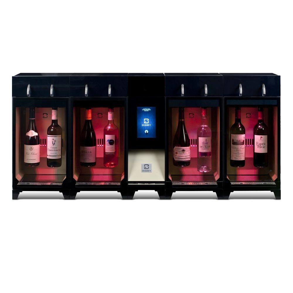 Distributeur de vin au verre 8 bouteilles en libre-service, installation incluse (photo)