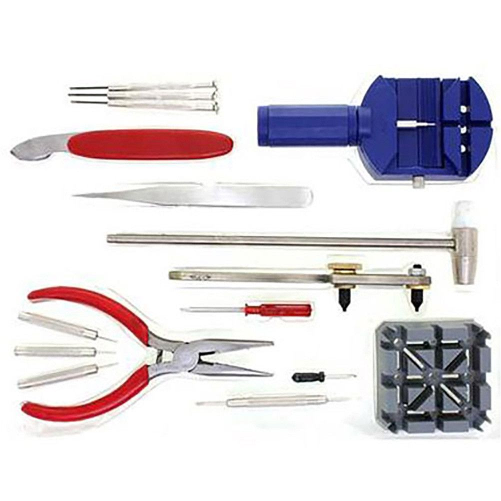 Kit outils horloger réparation de montres assortiment (photo)