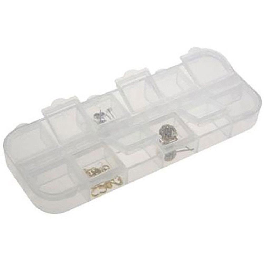 Boite de rangement 12 compartiments translucide (photo)