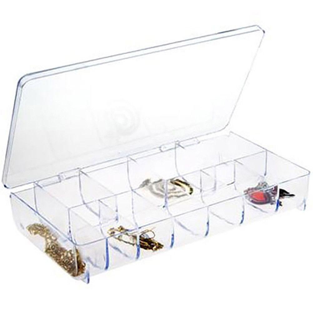 Boite de rangement  (11 compartiments) 20,5 x 10,3 x 3,3 cm (photo)