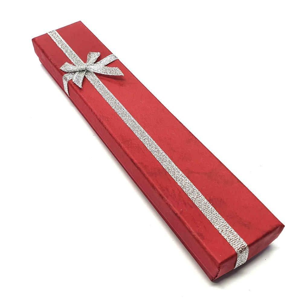 Emballages ecrin pour bracelet avec n 1/2 ud 4 x 20 cm (12 pièces) Bordeaux (photo)