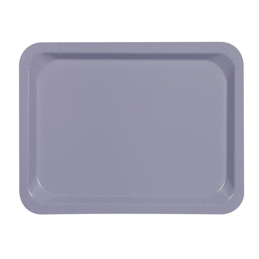 Plateau platex lilas 32,5 x 26,5 cm gastro 1/2 platex - par 20
