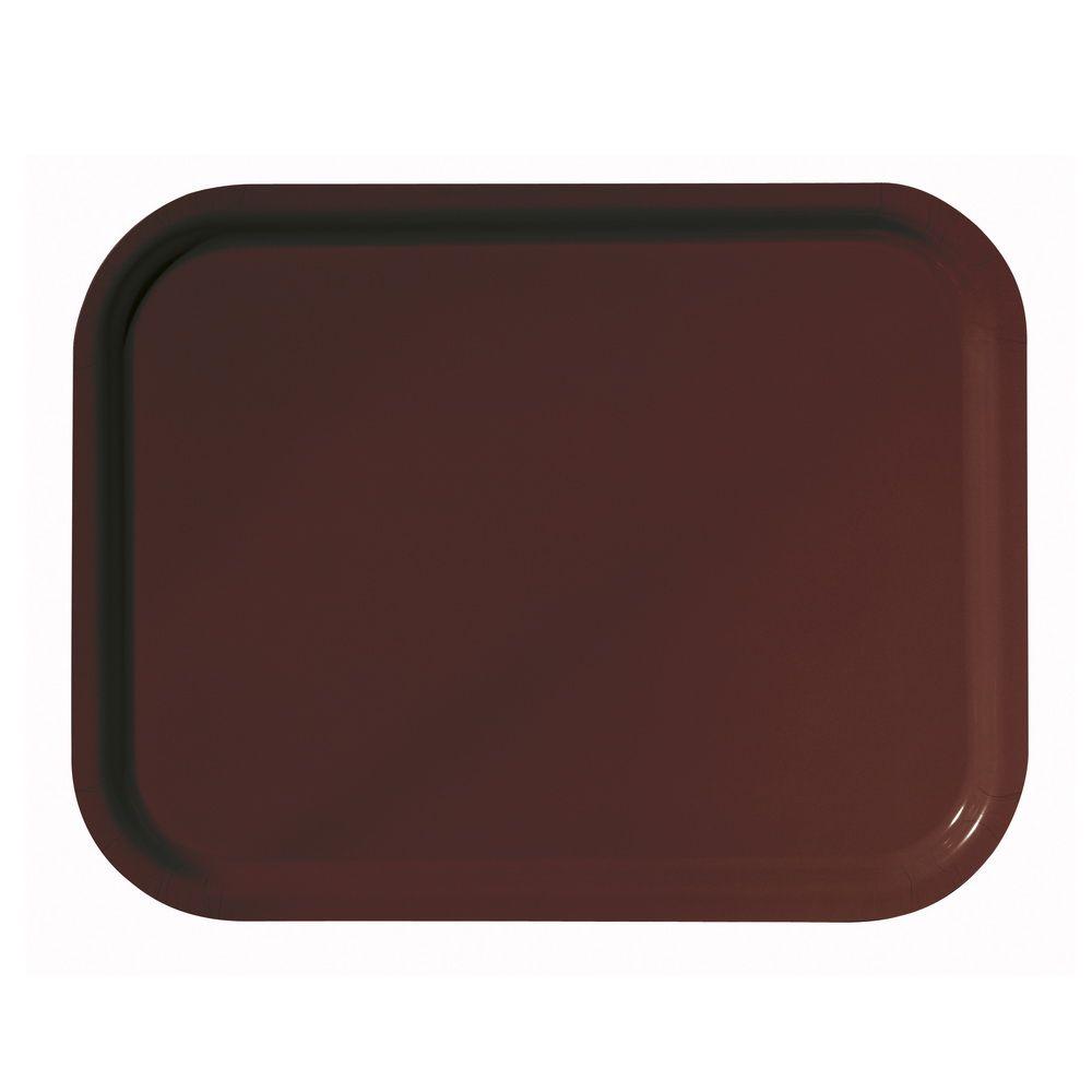 Plateau platex chocolat 53 x 32,5 cm gastro 1/1 platex - par 20