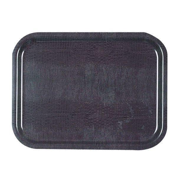 Plateau platex iguane chataigne 53 x 32,5 cm gastro 1/1 platex - par 20
