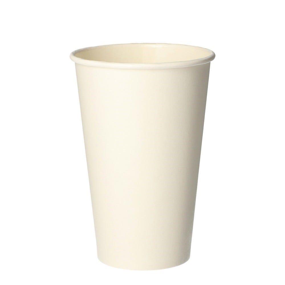 Gobelets, carton pure 0,3 l Ø 8 cm · 11,7 cm blanc - par 1000