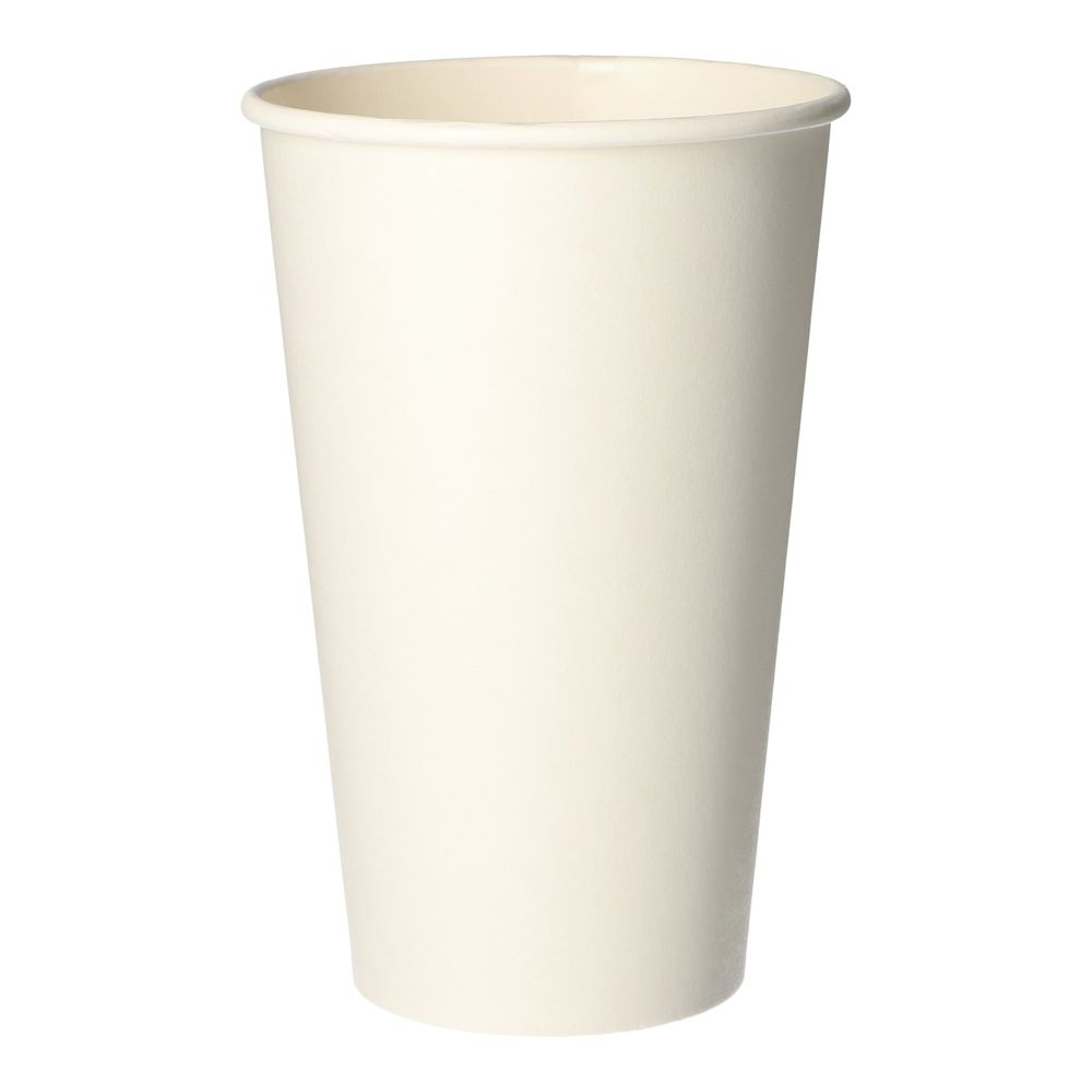Gobelets, carton pure 0,4 l Ø 9 cm · 13,9 cm blanc - par 1000