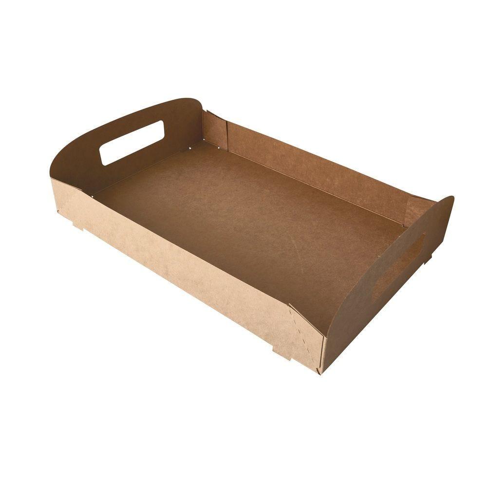 Plateaux, carton pure 4,5 cm x 45,7 cm x 30,7 cm marron 100% Fair - par 50
