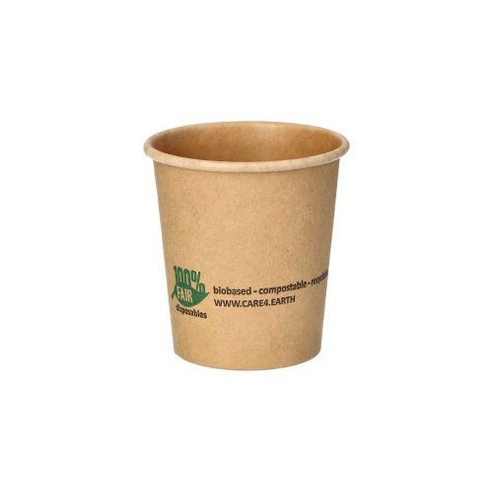 Petits pots, carton 120 ml Ø 6 cm · 6,6 cm marron 100% Fair - par 1000