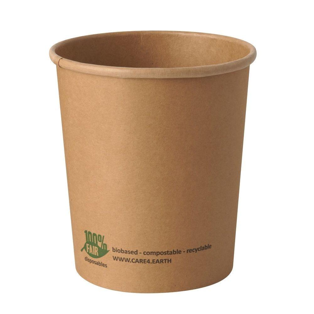 Terrines à soupe, carton 'pure' rond 940 ml Ø 11,5 cm · 13 cm marron - par 500