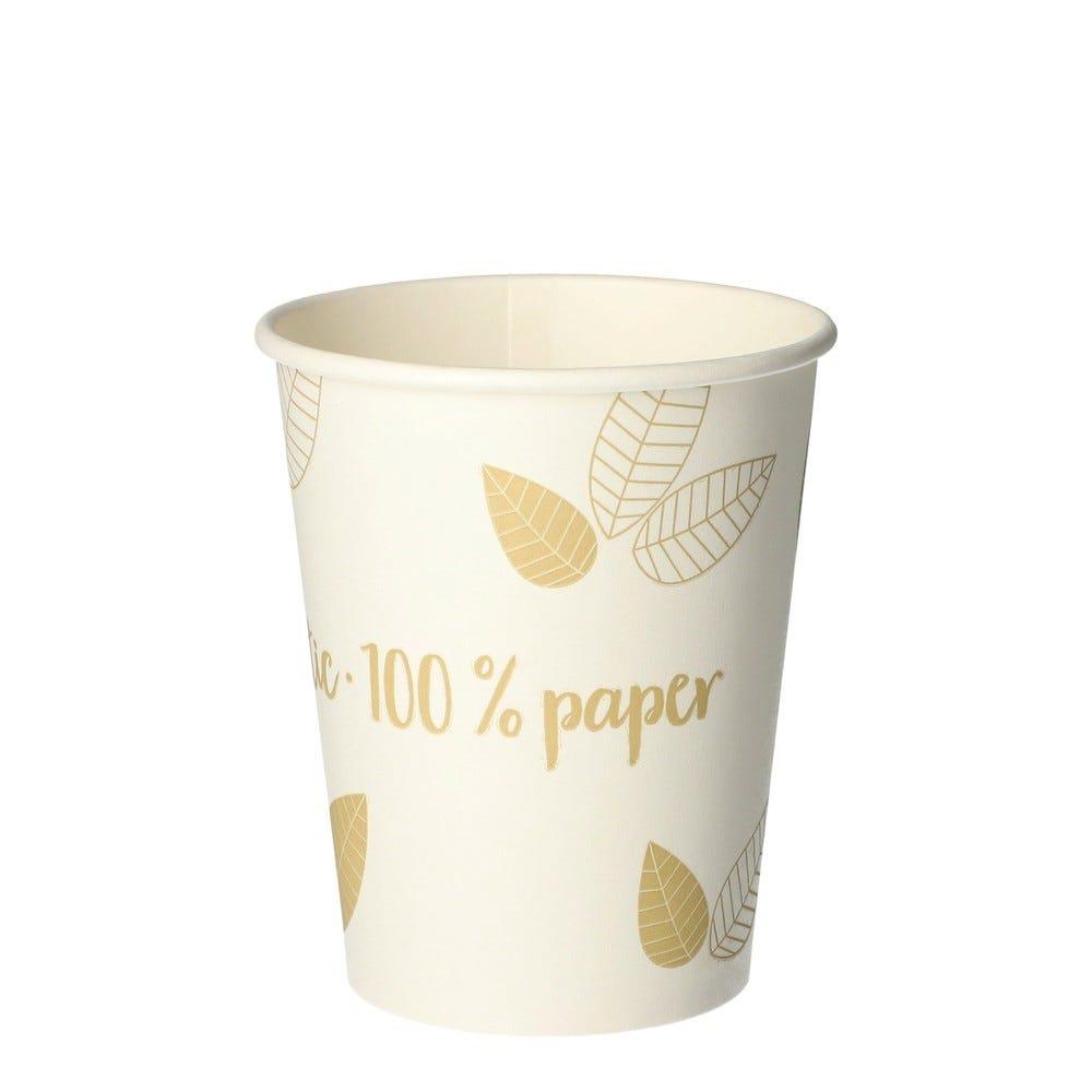 Gobelets, carton 'pure' 0,2 l Ø 8 cm par 1000