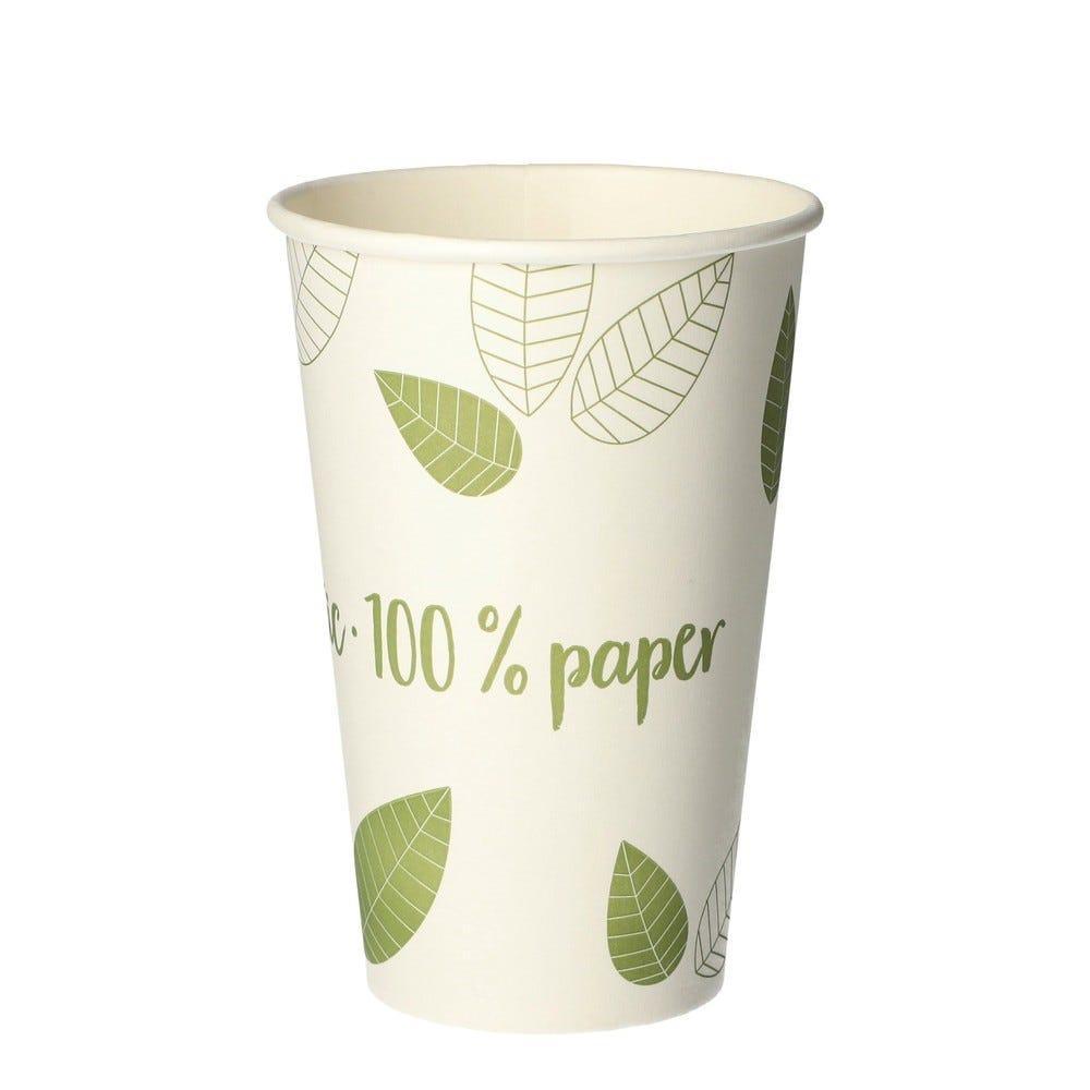 Gobelets, carton 'pure' 0,3 l Ø 8 cm par 1000