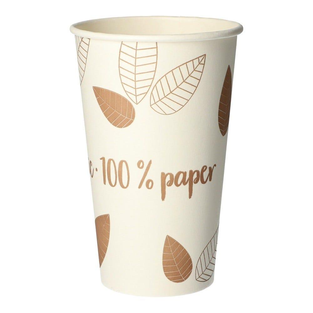 Gobelets, carton 'pure' 0,4 l Ø 9 cm par 1000