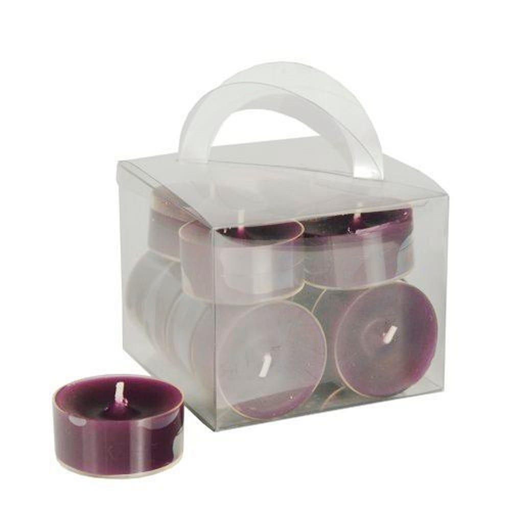 Chauffe-plats Ø 38 mm · 18 mm violet Polycarbonate, teinté dans la masse par 96
